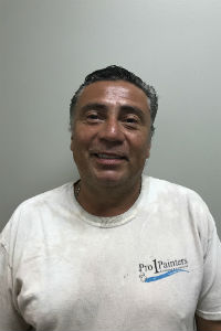 Painting company team member