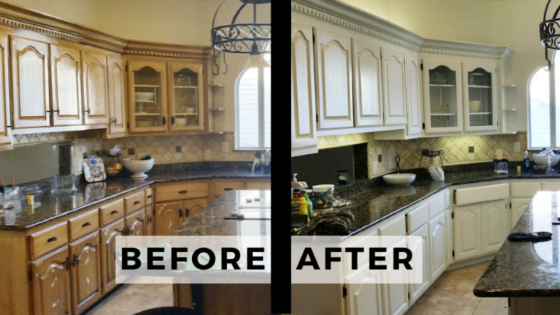 Project Highlight: Kitchen Cabinets | Pro 1 Painters