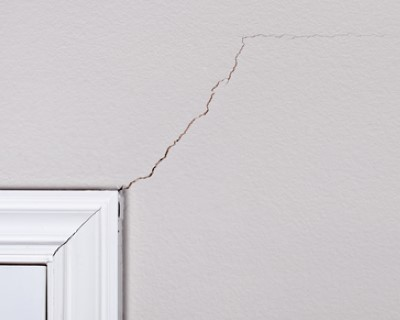 Sheetrock cracking repairs